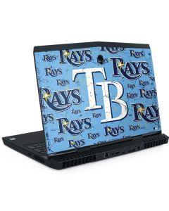 Tampa Bay Rays - Cap Logo Blast Dell Alienware Skin