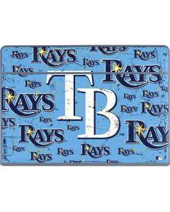 Tampa Bay Rays - Cap Logo Blast Galaxy Book Keyboard Folio 12in Skin