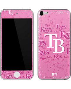 Tampa Bay Rays - Pink Cap Logo Blast Apple iPod Skin