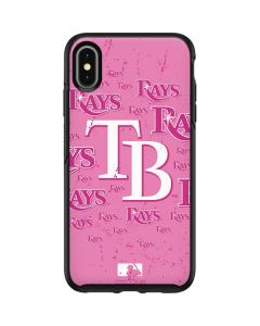 Tampa Bay Rays - Pink Cap Logo Blast Otterbox Symmetry iPhone Skin