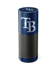 Tampa Bay Rays - Solid Distressed Amazon Echo Skin