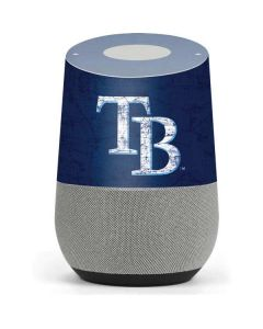 Tampa Bay Rays - Solid Distressed Google Home Skin
