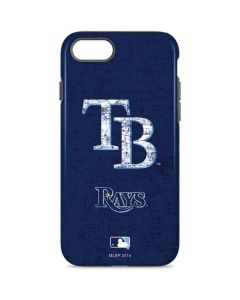 Tampa Bay Rays - Solid Distressed iPhone 8 Pro Case