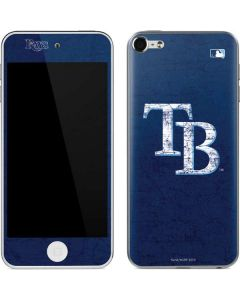 Tampa Bay Rays - Solid Distressed Apple iPod Skin
