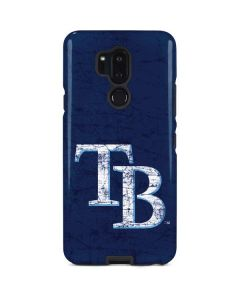 Tampa Bay Rays - Solid Distressed LG G7 ThinQ Pro Case