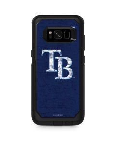 Tampa Bay Rays - Solid Distressed Otterbox Commuter Galaxy Skin