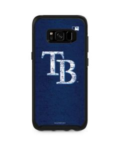 Tampa Bay Rays - Solid Distressed Otterbox Symmetry Galaxy Skin
