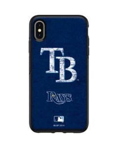 Tampa Bay Rays - Solid Distressed Otterbox Symmetry iPhone Skin