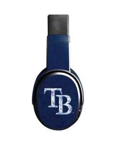 Tampa Bay Rays - Solid Distressed Skullcandy Crusher Wireless Skin