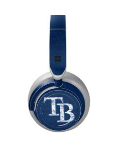 Tampa Bay Rays - Solid Distressed Surface Headphones Skin