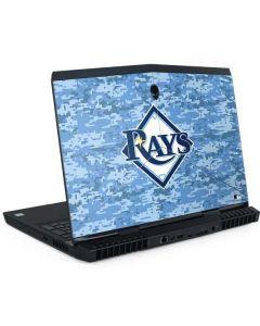 Tampa Bay Rays Digi Camo Dell Alienware Skin