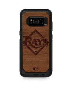 Tampa Bay Rays Engraved Otterbox Commuter Galaxy Skin