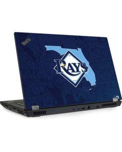 Tampa Bay Rays Home Turf Lenovo ThinkPad Skin