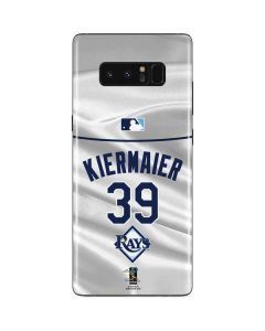 Tampa Bay Rays Kiermaier #39 Galaxy Note 8 Skin