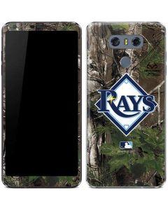 Tampa Bay Rays Realtree Xtra Green Camo LG G6 Skin