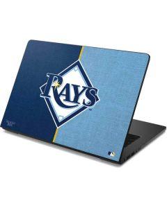 Tampa Bay Rays Split Dell Chromebook Skin