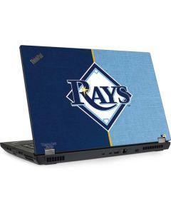 Tampa Bay Rays Split Lenovo ThinkPad Skin