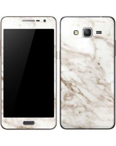 Taupe Marble Galaxy Grand Prime Skin
