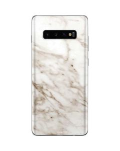 Taupe Marble Galaxy S10 Plus Skin