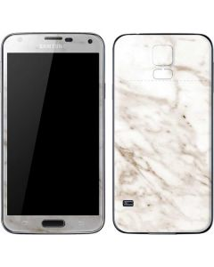 Taupe Marble Galaxy S5 Skin
