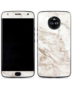 Taupe Marble Moto X4 Skin