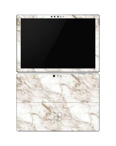 Taupe Marble Surface Pro 6 Skin