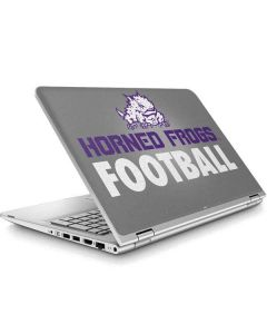 TCU Horned Frogs Football ENVY x360 15t-w200 Touch Convertible Laptop Skin