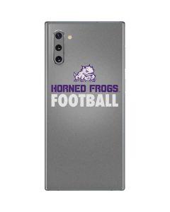TCU Horned Frogs Football Galaxy Note 10 Skin