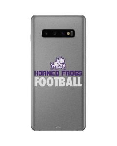 TCU Horned Frogs Football Galaxy S10 Plus Skin