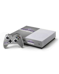TCU Horned Frogs Football Xbox One S Console and Controller Bundle Skin