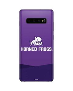 TCU Horned Frogs Mascot Galaxy S10 Plus Skin