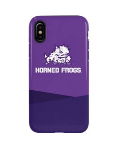 TCU Horned Frogs Mascot iPhone XS Max Pro Case