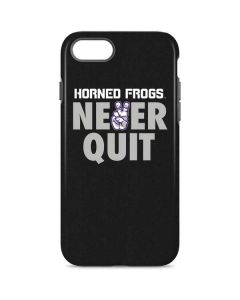 TCU Horned Frogs Never Quit iPhone 7 Pro Case