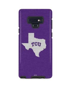 TCU Texas Outline Galaxy Note 9 Pro Case