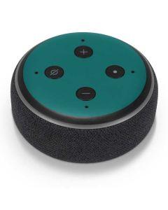 Teal Amazon Echo Dot Skin