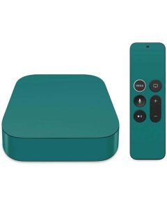 Teal Apple TV Skin