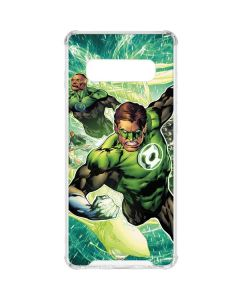 Team Green Lantern Galaxy S10 Clear Case