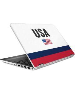 USA American Flag HP Pavilion Skin