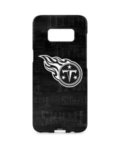 Tennessee Titans Black & White Galaxy S8 Plus Lite Case