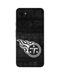Tennessee Titans Black & White Google Pixel 3a Skin