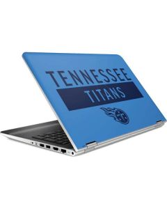 Tennessee Titans Blue Performance Series HP Pavilion Skin
