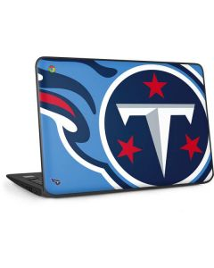 Tennessee Titans Large Logo HP Chromebook Skin