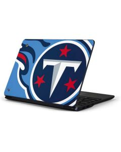 Tennessee Titans Large Logo Samsung Chromebook Skin