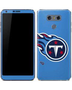 Tennessee Titans Large Logo LG G6 Skin