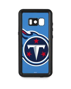 Tennessee Titans Large Logo Galaxy S8 Plus Waterproof Case