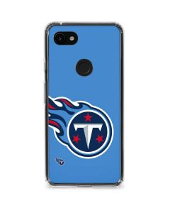 Tennessee Titans Large Logo Google Pixel 3a Clear Case