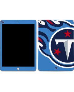 Tennessee Titans Large Logo Apple iPad Skin