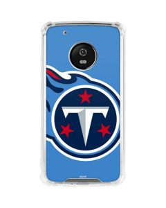 Tennessee Titans Large Logo Moto G5 Plus Clear Case
