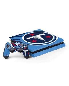 Tennessee Titans Large Logo PS4 Slim Bundle Skin