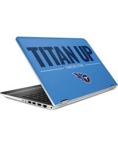 Tennessee Titans Team Motto HP Pavilion Skin